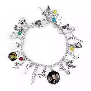 Harry Potter Silver Plated Charm Bracelet
